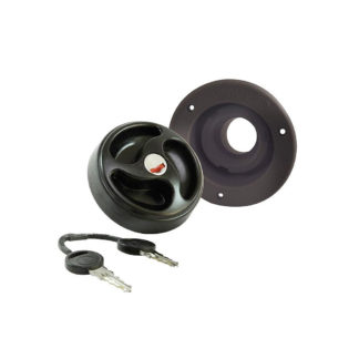 Water Filler Cap 40mm ES2100 Black