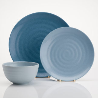 Flamefield Shades Of Blue Melamine Set SB0112
