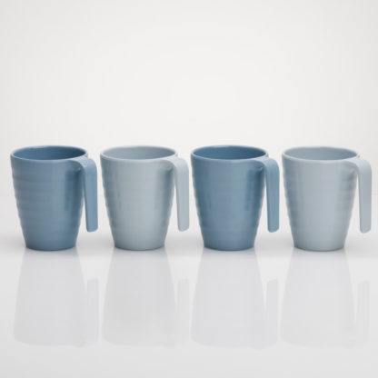 Flamefield Shades Of Blue Mug Set SB423