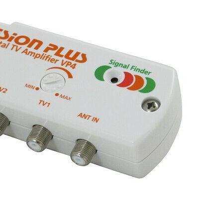 Vision Plus VP4 Digital TV Amplifier Signal Finder