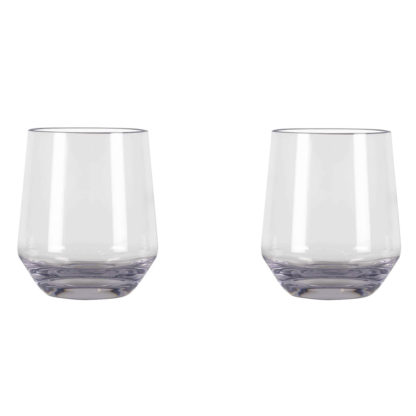 Kampa Polycarbonate CW1078 Soho Stemless Glass