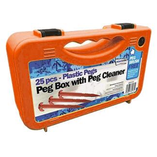 LWACC202 Leisurewize Plastic Peg Box 25 Piece