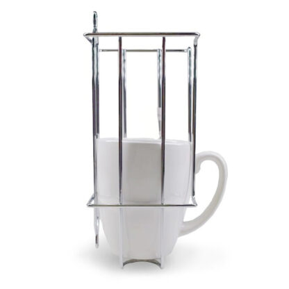 Chrome Wire Cup Mug Holder