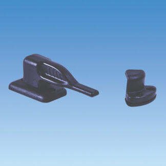 PLS Black Door Fastener PO361