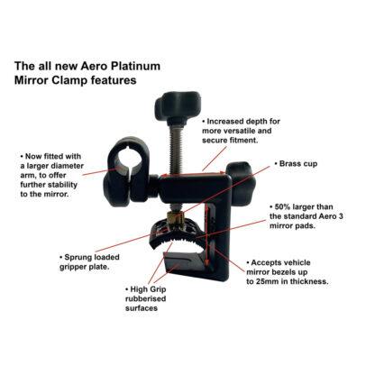 Aero Platinum Clamp