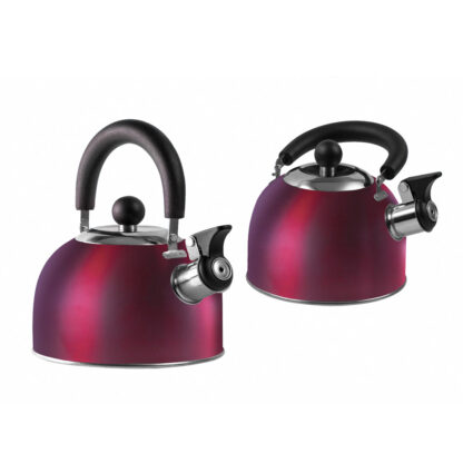 Red Compact Gas Kettle